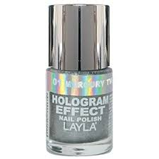 amazon com layla hologram effect nail polish mercury twilight