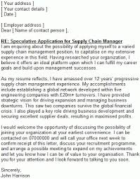 speculative cover letter sample the best letter sample