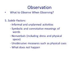 observation qualitative research methods observation observation