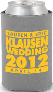 totally wedding koozies coupon code this listing is for made to order wedding koozies give your