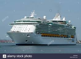 liberty of the seas cruise ship departing southampton england uk
