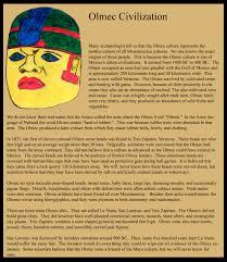 Aztec Mayan Inca Map Olmec Civilization
