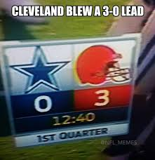 Cleveland Brown Memes - 20 best memes of the dallas cowboys demolishing the winless