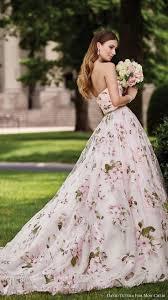wedding dress colors 24 trendy floral applique wedding dresses wedding dress trends