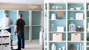 How To Make Bookcases Look Built In 6 Cheap Ways To Make Furniture Look More Expensive Huffpost