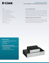 amazon com d link 5 port unmanaged gigabit metal desktop switch