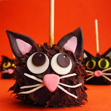 chocolate caramel apple cats hungry happenings