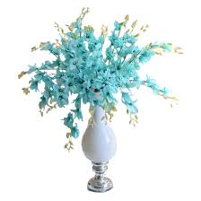 Flower Decorations For Home by Popular Blue Orchids Buy Cheap Blue Orchids Lots From China Blue