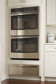 double oven cabinet width double oven cabinet with warming drawer cabinetry