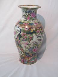 Reproduction Chinese Vases Hand Decorated Oriental Vases