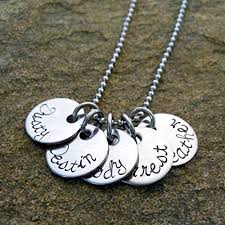 Mother S Necklace With Names Personalized Necklace Childrens Names The Necklace