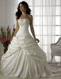 poofy wedding dresses 2015 new white ivory fishtail shitsuke wedding dress bridal gown