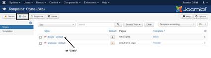 j3 x getting started with templates joomla documentation