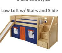 Low Loft Bunk Bed Welcome To Maxtrixonline We Carry Maxtrix Low Loft Beds