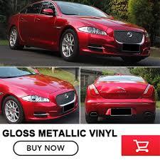 red gloss metallic vinyl wrap vinyl the same as paint car wrap