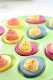 naturally dyed deviled eggs emily kyle nutrition