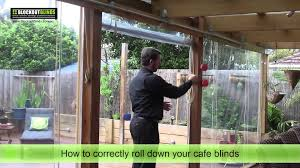learn how to correctly roll down your cafe blinds youtube