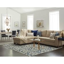 Beige Sectional Sofa Beige Tan Bonded Leather Fabric Leather Linen Microfiber Suede