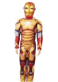 Tony Stark Halloween Costume Clothes German Picture Detailed Picture Free Shipping