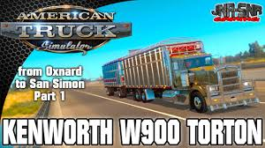 trucking companies with kenworth w900 ats mods kenworth w900 torton american truck simulator weekly