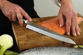 couteaux professionnels de cuisine couteau japonais shun pro yanagiba professionnel cuisine