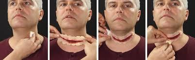 spirit halloween liquid latex slit throat makeup tutorial wholesale halloween costumes blog