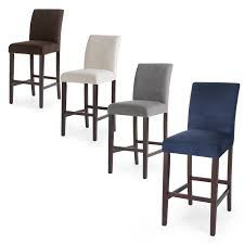 Home Bar by Linon Vega 30 In Bar Stool Agean Blue Hayneedle