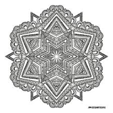 mandala coloring pages advanced level printable virtren com