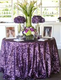 wholesale wedding linens 96 purple sequin table linen purple sequin by sparklesoiree
