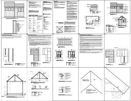 Free Wood Shed Plans 10x12 by Shed Plans 8 X 10 Free Cost Effective Industrial Shed And Pre