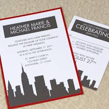 wedding invitations nyc new york city destination wedding invitations a central park