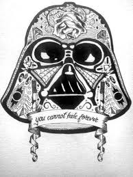 19 darth vader sugar skull tattoo
