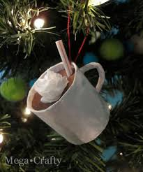 mug ornament mega crafty turn pt into hot chocolate ornaments