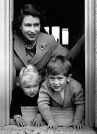 1952 queen elizabeth yanks young prince charles through a window