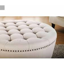 White Fur Ottoman by Ottoman Simple Extra Large Round Ottoman Oversized Square