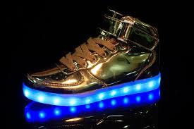 rainbow light up shoes merkmak sale golden silver big size 46 led shoes men glowing