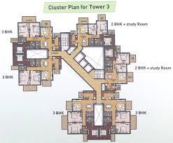 2bhk floor plan hero homes mohali site plan floor plans and cluster plan
