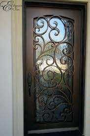 front doors custom wrought iron front door front door security