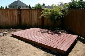 How To Build A Backyard How To Build A Backyard Deck Large And Beautiful Photos Photo