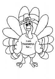 thankful free printable thanksgiving worksheet