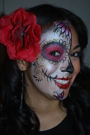 Halloween Skull Face Makeup by 49 Best Face Paint Sugar Skull Images On Pinterest Sugar Skulls
