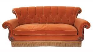 the couch series central perk couch from friends est sale price 4 000 6 000
