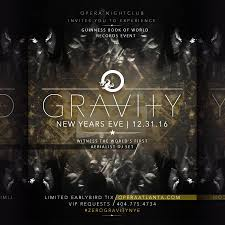 discount pre sale tickets for gravity new year u0027s eve 2017 at