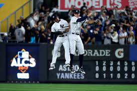 Aaron Judge Made His Mlb Debut In Center Field - the yankee greeter aaron judge always the last man off for new york