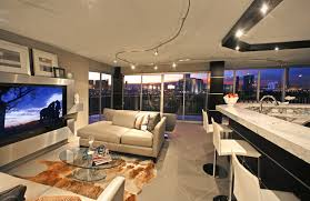 REGENCY TOWERS PENTHOUSE - Contemporary living room furniture las vegas