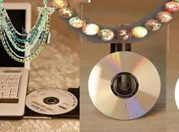 diy wall art using old cd u0027s and recycled crafts ideas youtube