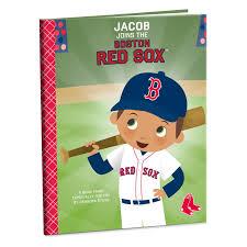 Boston Red Sox Home Decor by Boston Red Sox Personalized Book Personalized Books Hallmark