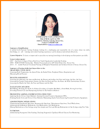 Lpn Skills Checklist For Resume Resume Sample For Fresh Graduate Resume For Your Job Application