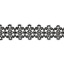 black victorian choker necklace images Black victorian crochet choker necklace jpg