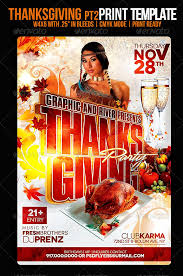 thanksgiving flyer by psdflyers graphicriver